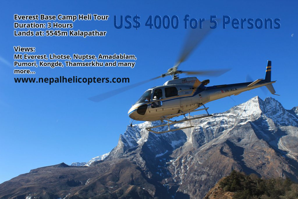 Everest Helicopter Tour