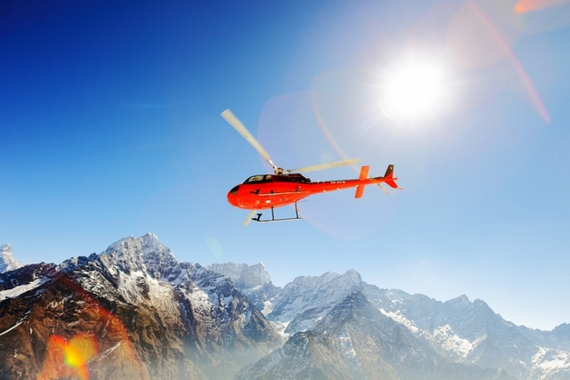 Helicopter Charter Costs in Nepal