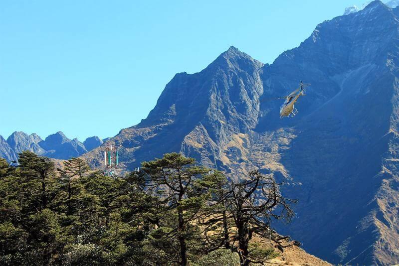 Heli Sightseeing in Nepal