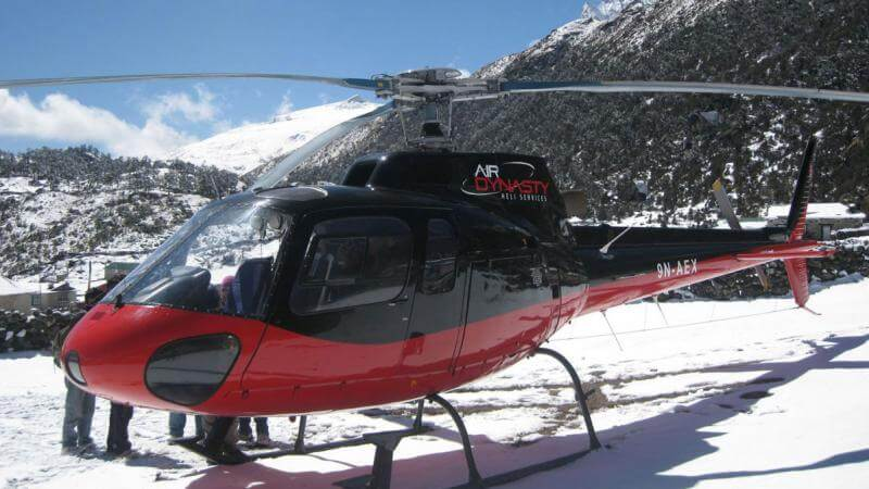 Langtang Helicopter Flight