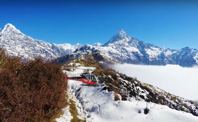 Mardi Himal Base Camp Helicopter Tour