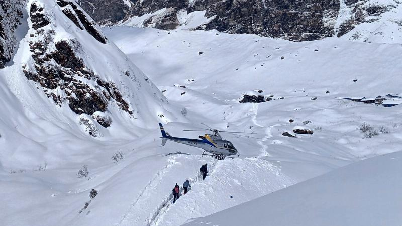 Annapurna Helicopter Rescue