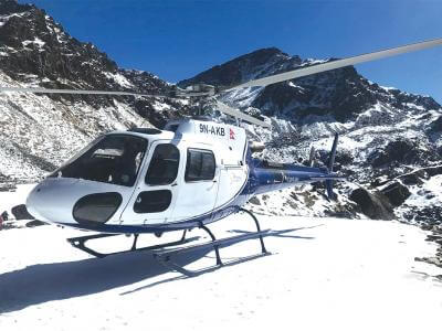 Mountain Helicopters company in Nepal