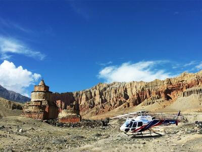 Upper Mustang Helicopter Tours